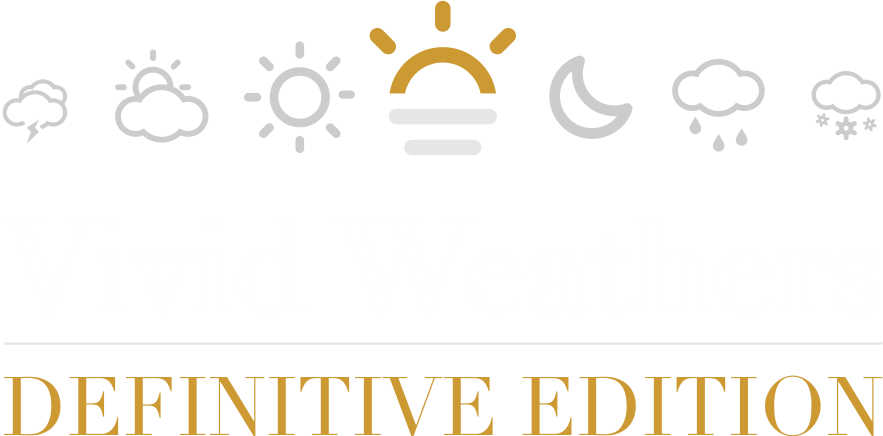 Vivid Weathers Definitive Edition - a complete Weather and